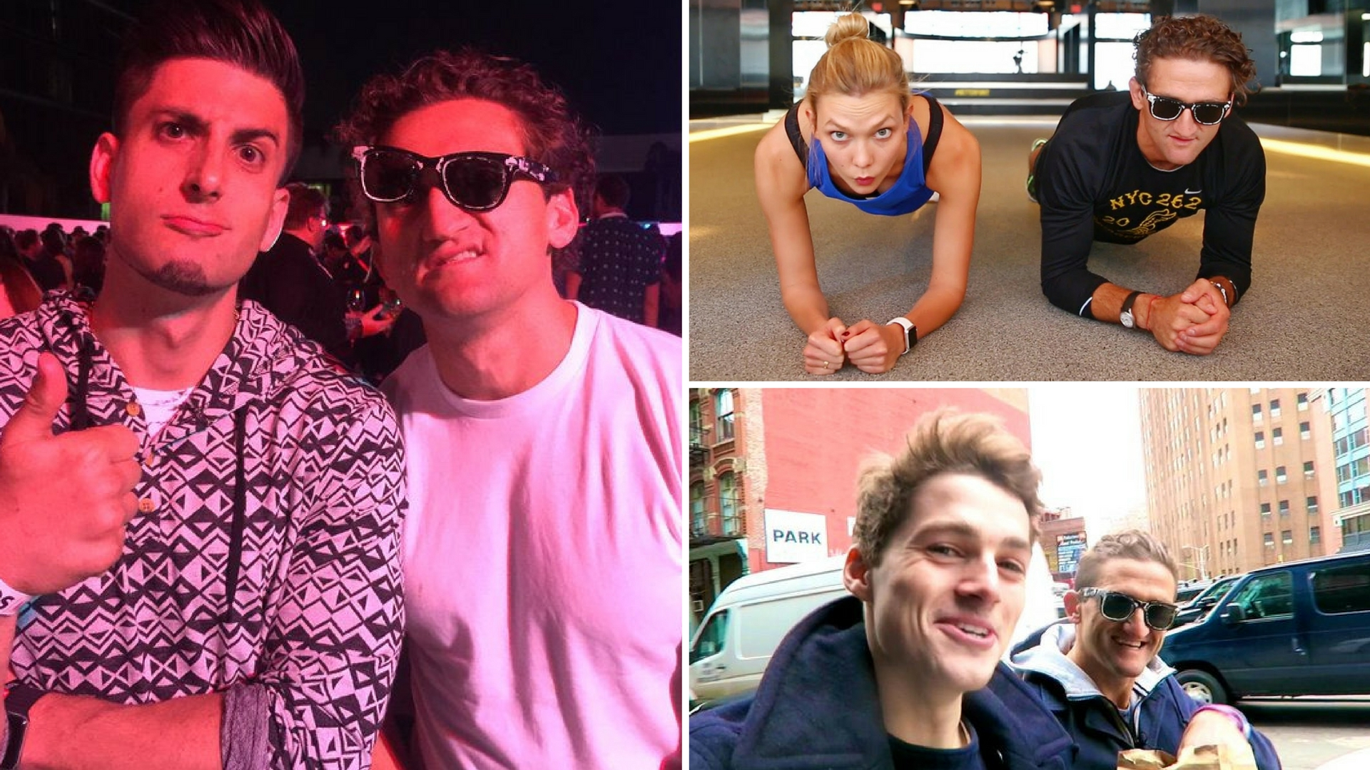 casey neistat and his friends jack jesse and karlie