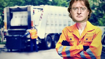 gaben taking out the trash