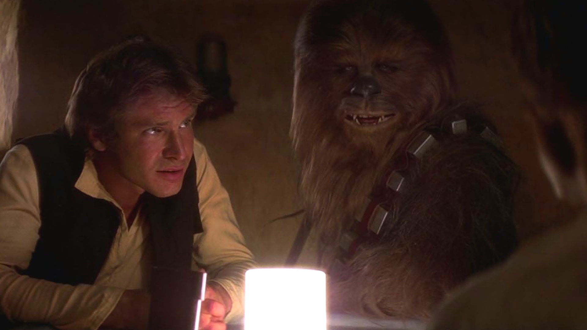 han solo and wookie bro