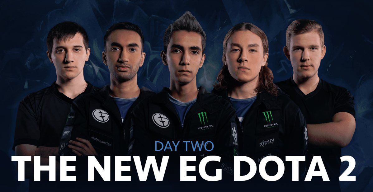 the new EG roster