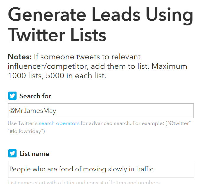 twitter influencer generate leads