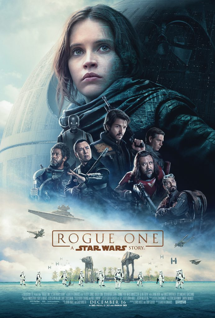 star wars rogue one poster review large