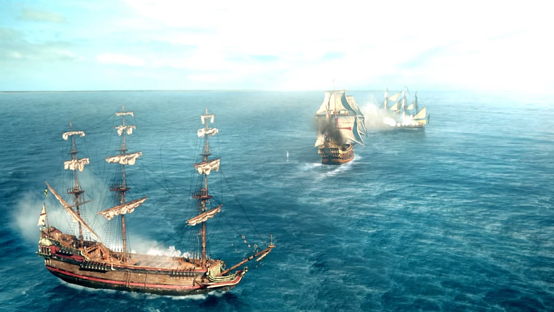 ships in black sails season 4 produced by micheal bay