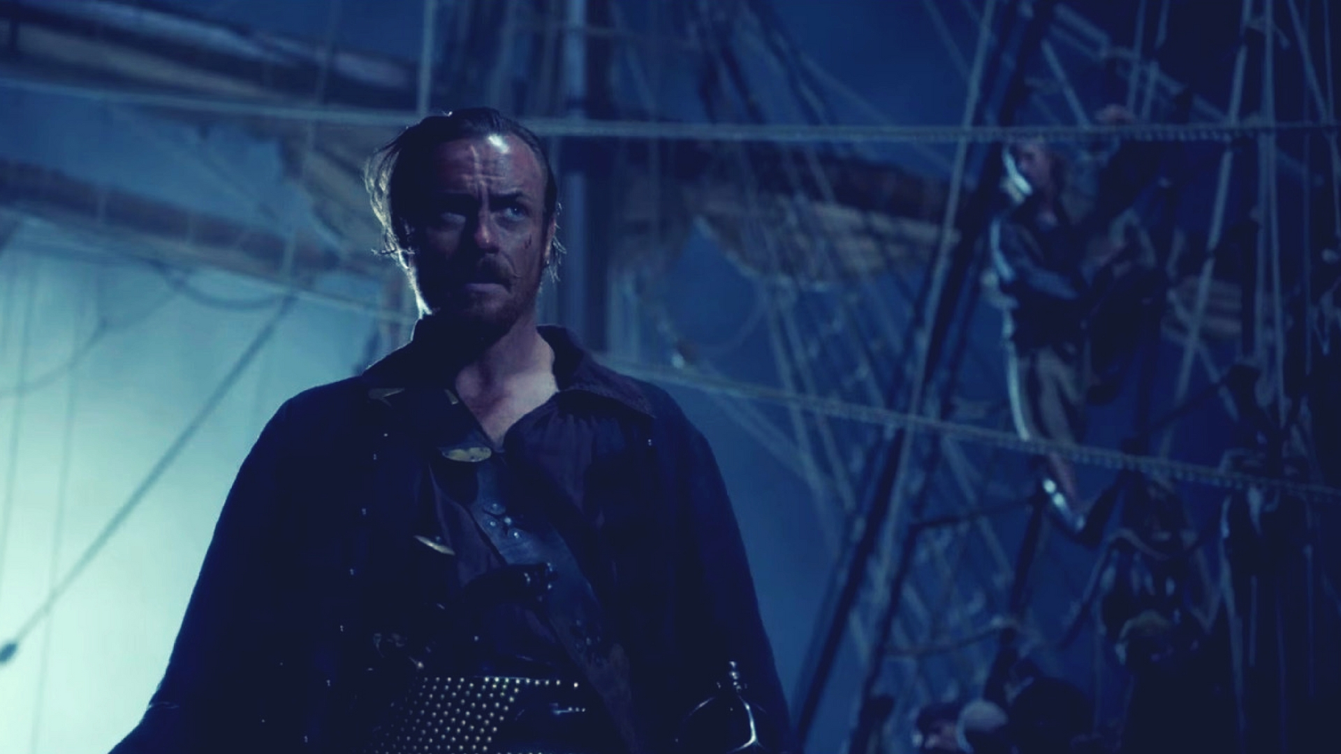 toby stephens in black sails season 4 produced by micheal bay