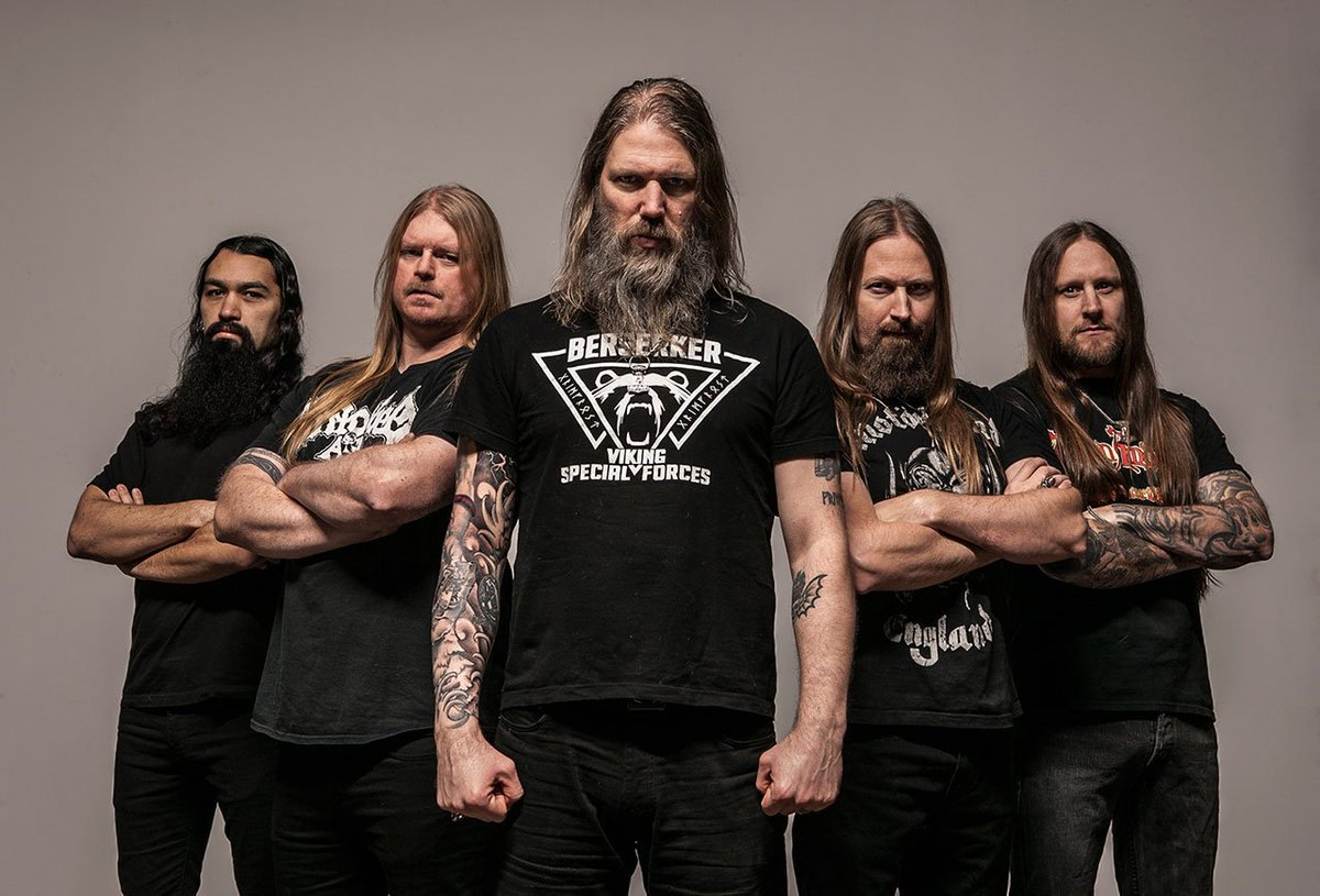 Swedish Death Metal Band Amon Amarth