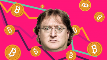 gabe newell bitcoin graphic