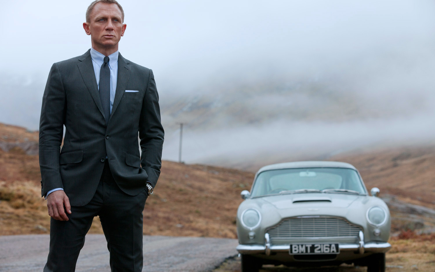 james bond daniel craig aston martin db5