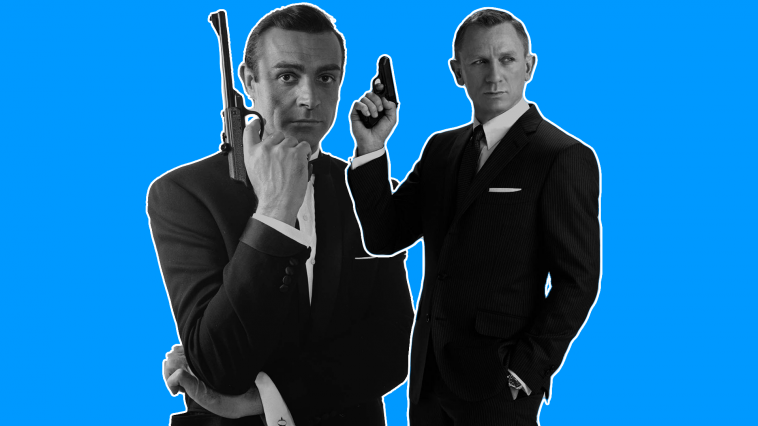james bond sean connery daniel craig