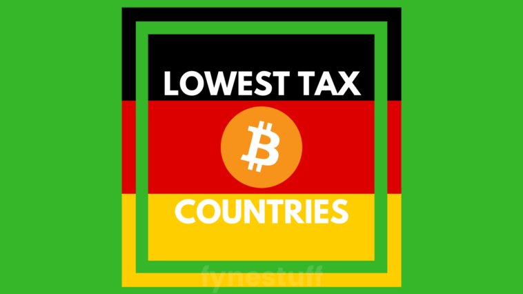 lowest tax countries cryptocurrency