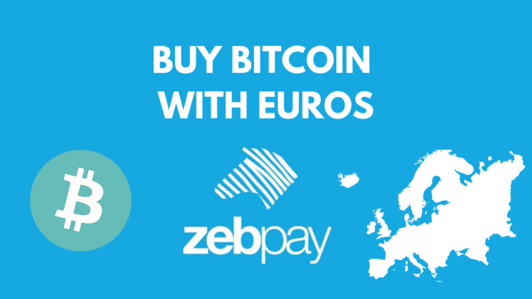 Buy Bitcoin with Euros